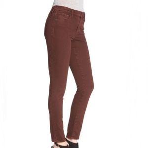 Madewell Skinny Skinny Burgundy Jeans. Size 27